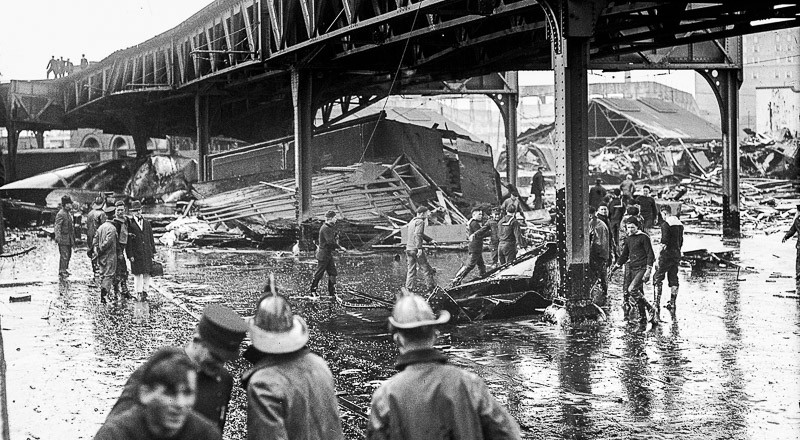 Great Molasses Flood in Boston
