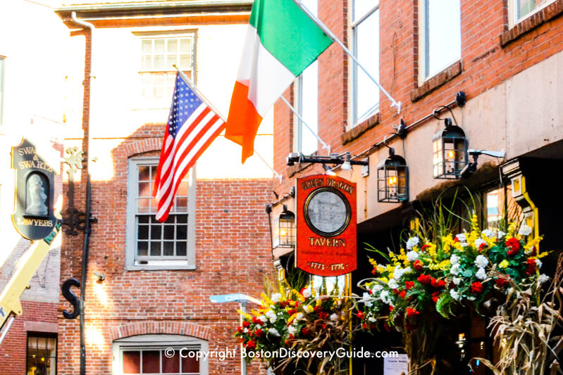 Green Dragon Tavern, where Boston's Sons of Liberty eavesdropped on Redcoats and planned their Tea Party