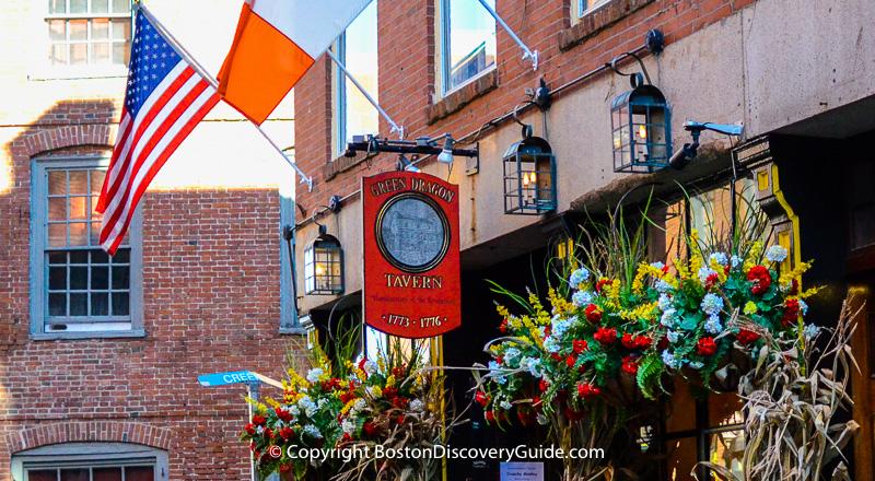 Boston's historic bars, pubs, and taverns