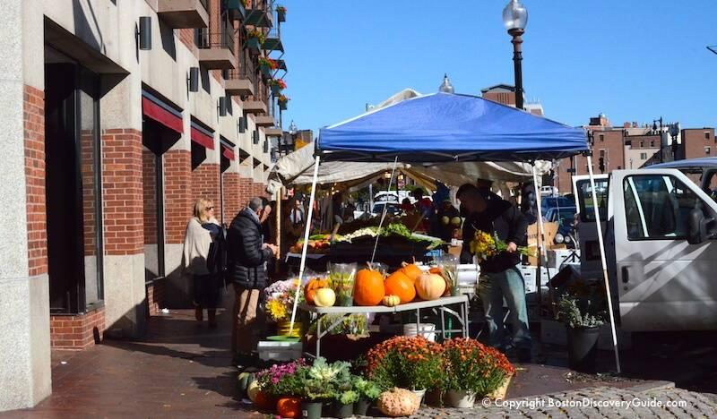 Haymarket Boston - Historic Outdoor Market - Boston
