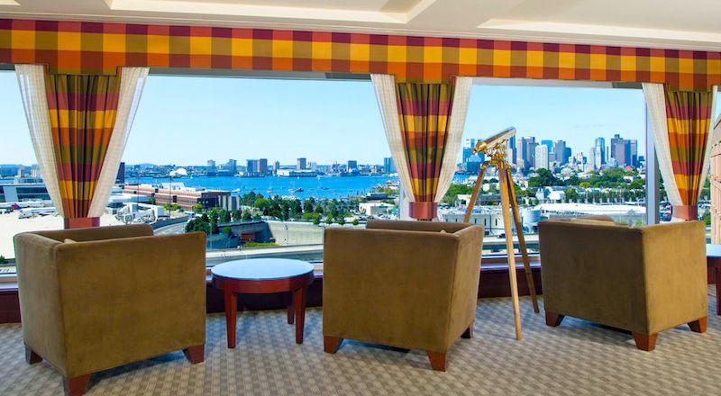 Boston Logan Airport Hotels - View from Boston Logan Hilton Hotel