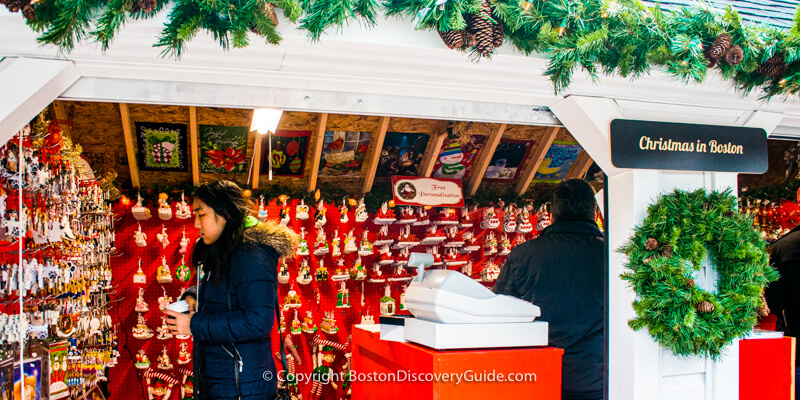 Boston's Winter Holiday Market & Ice Rink