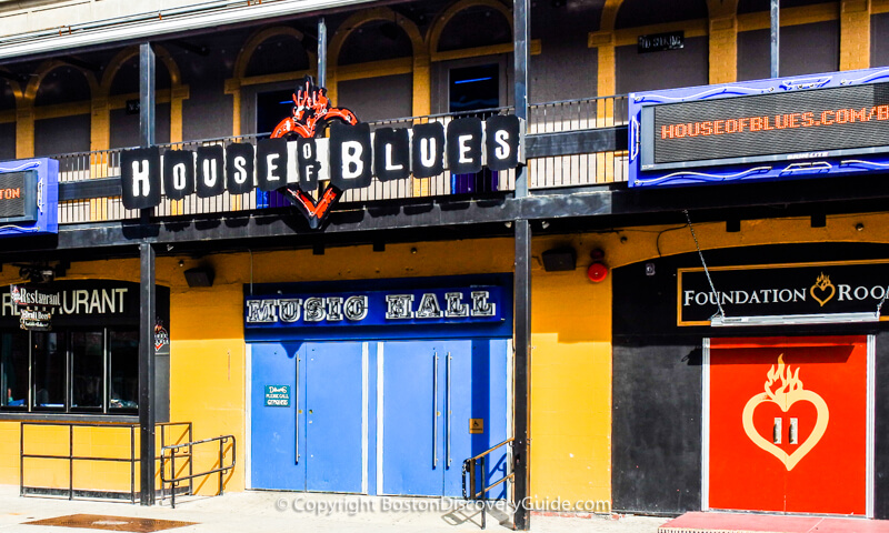 House of Blues Boston across from Fenway Park