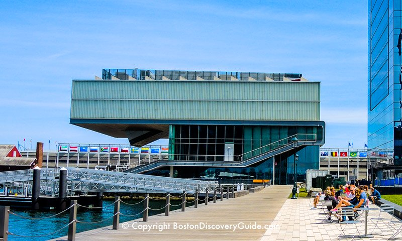 Institute of Contemporary Art overlooking Boston Harbor