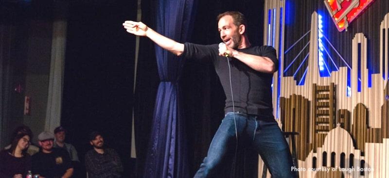 Boston comedy clubs include Laugh Boston