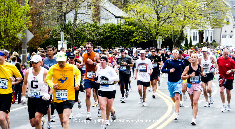 Boston Marathon weather