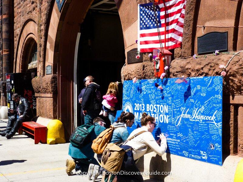 Boston Marathon 2013 memorial