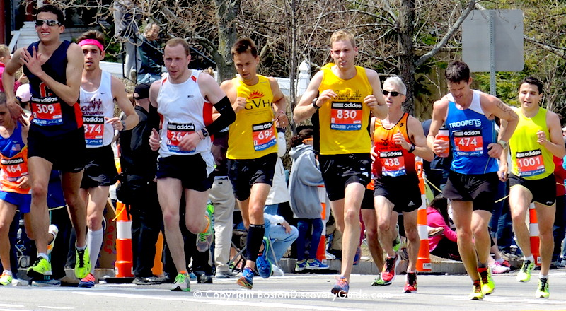 Boston Marathon runners - suggestions for photographers