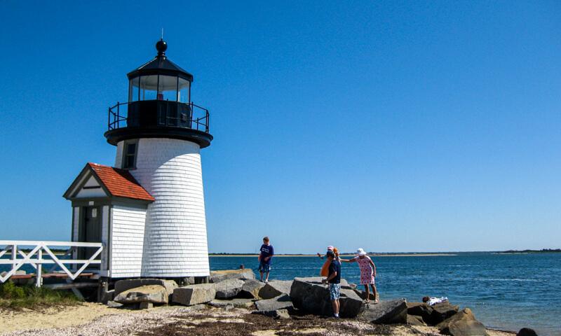 Nantucket Island lighthouse