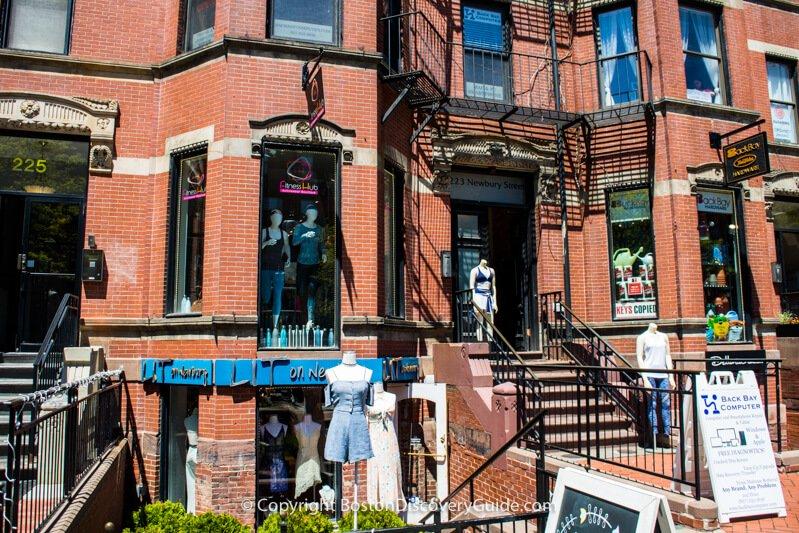L'Elite and Arche on Boston's Newbury Street