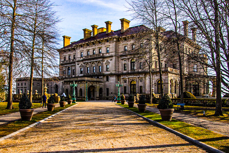 The Breakers, one of Newport's famed mansions - Photo credit: Scott1346 via Creative Commons license