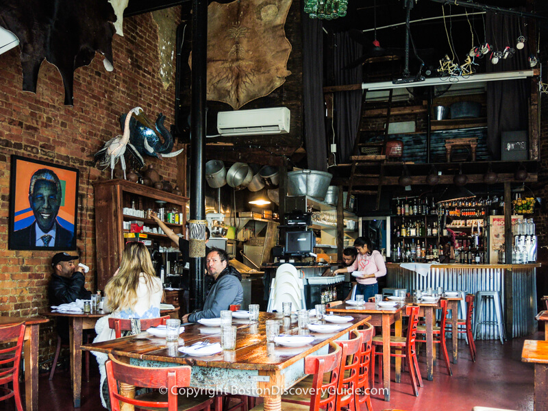 Bistro in New York's Lower East Side neighborhood