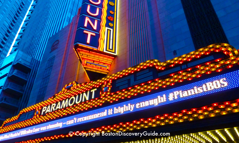 Paramount Theatre in Boston