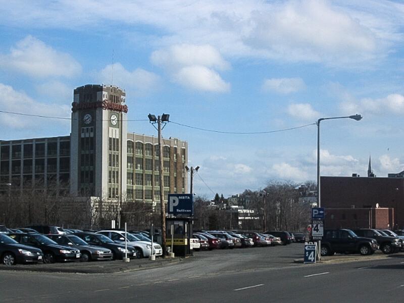 Patriot Parking lot at Sullivan Square - Photo courtesy of Patriot Parking