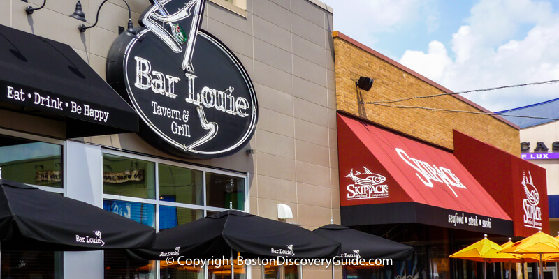 Bar Louis at Patriot Place, next to Gillette Stadium