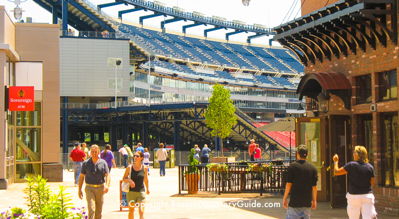 Patriot Place Dining And Shopping At Gillette Stadium Boston