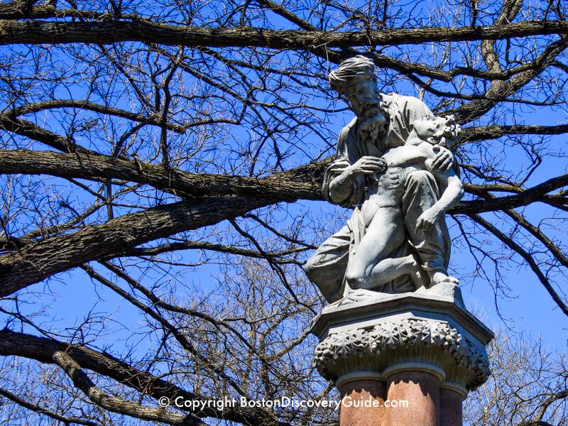 Ether Monument in Boston's Public Garden