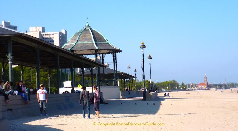 Revere Beach pavilions