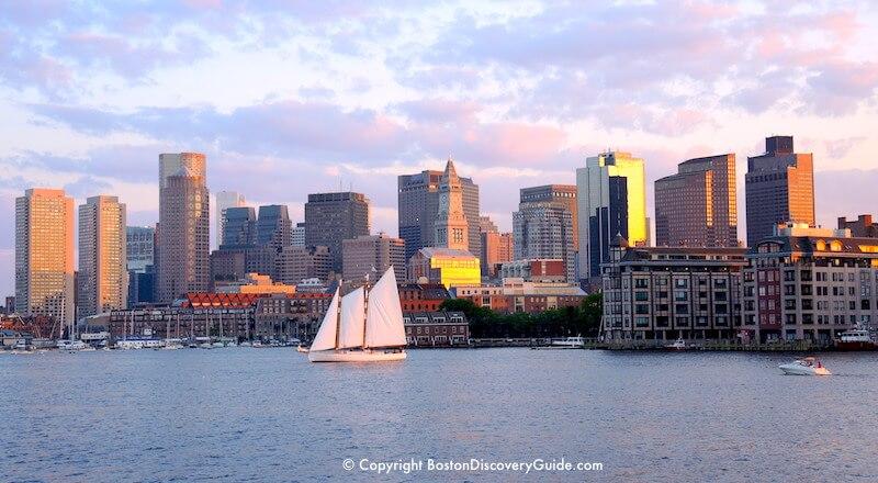 Boston Harbor cruises during Harborfest