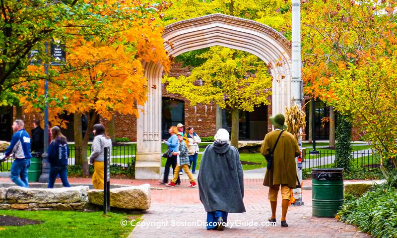 Fall Foliage Tours 2019 - Boston and New England - Boston