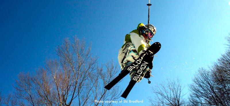 New England ski areas include Ski Bradford, close to Boston