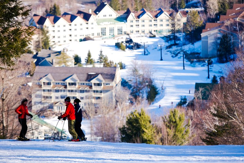 Jiminy Peak Mountain Resort in western Massachusetts