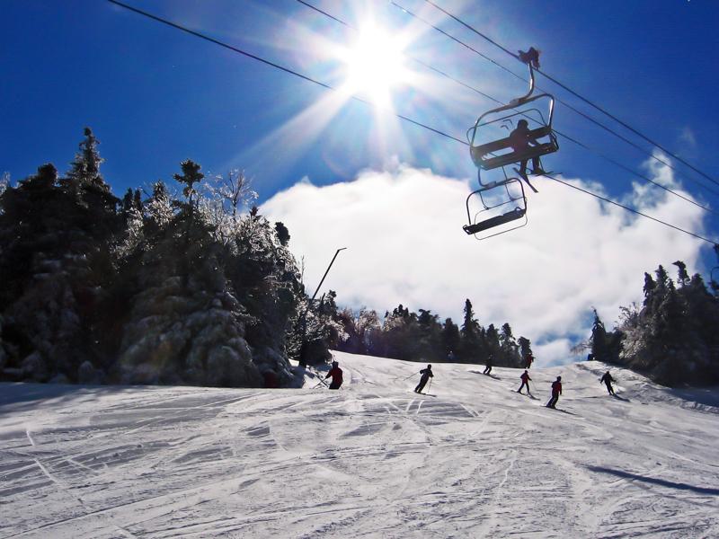Mount Sunapee, New England ski area close to Boston