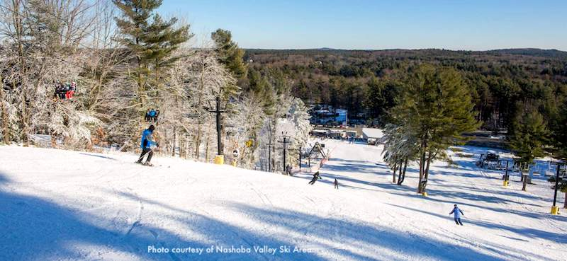 Nashoba Valley ski area near Boston