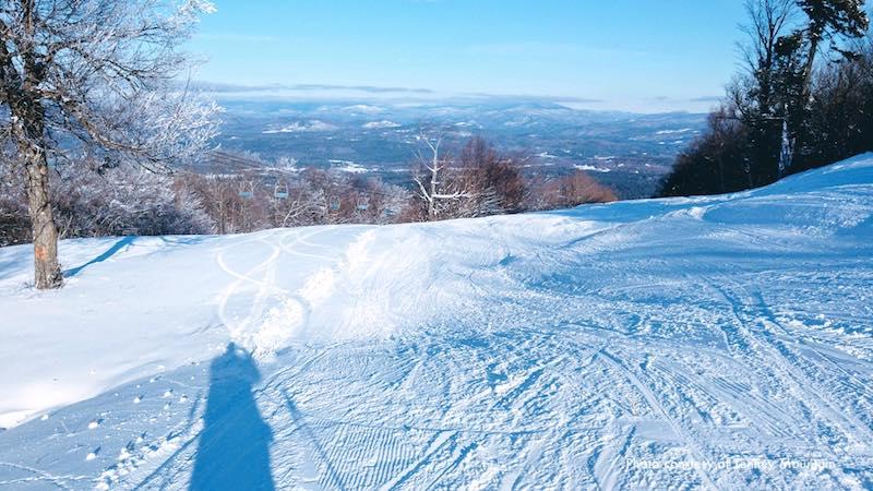 Tenney Mountain Ski and Snowboard Resort, New England ski area close to Boston