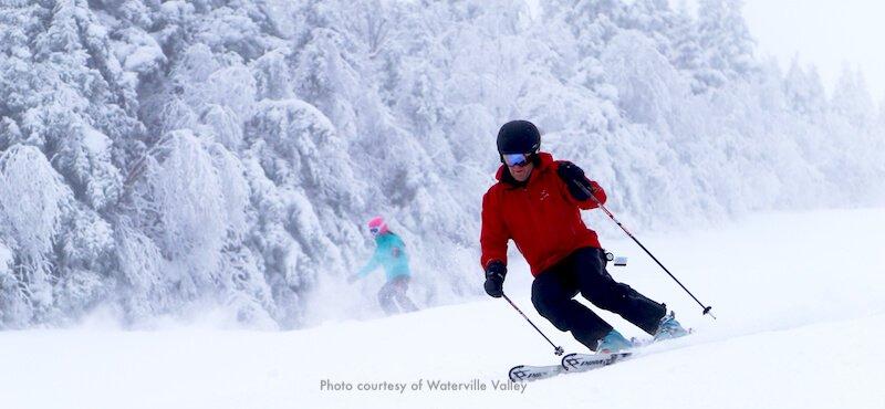 Waterville Valley Resort, popular New England ski area
