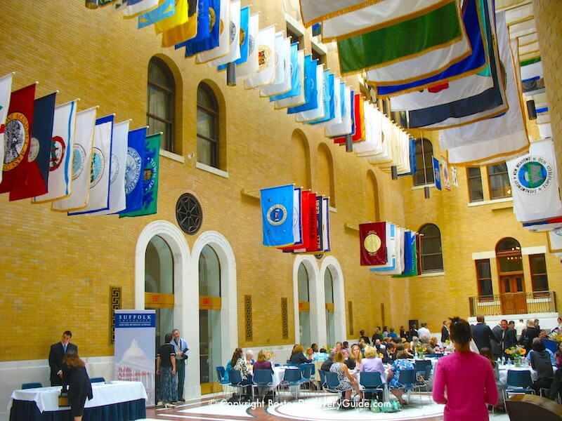 The Great Hall in Massachusetts State House