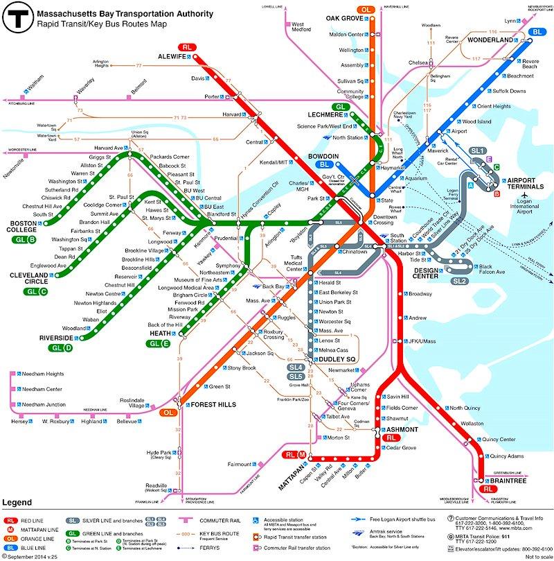 Boston Subway - The