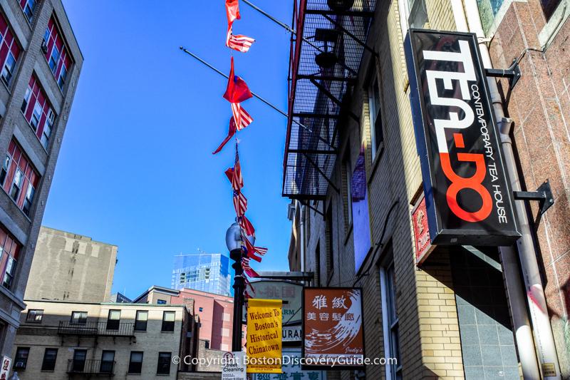 Boston winter break week - go to Tea-Do for bubble tea and board games