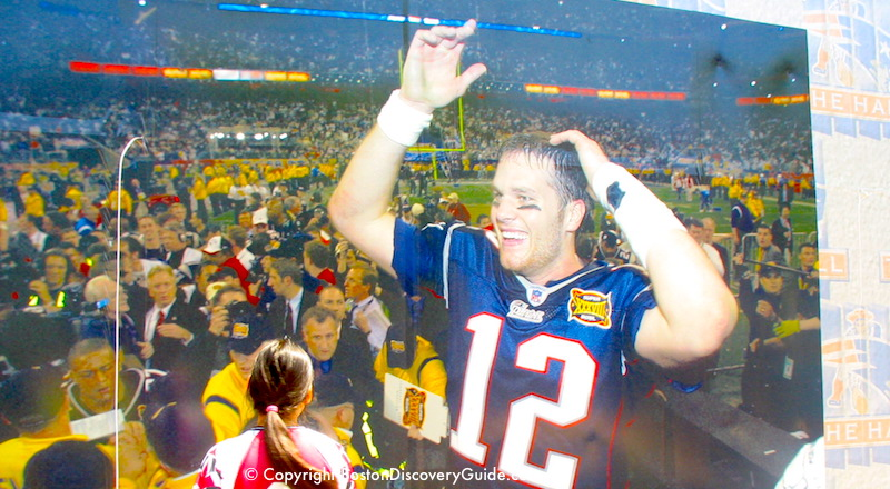 Super Bowl Sunday in Boston