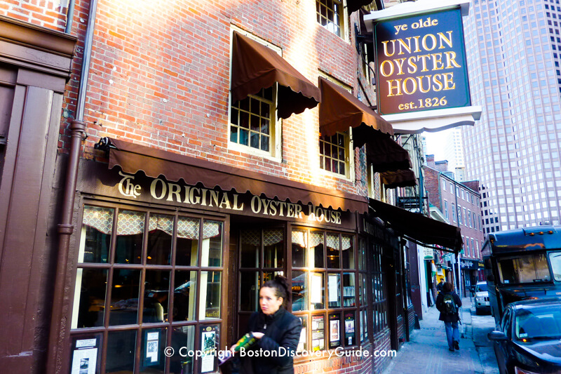 Union Oyster House in Boston's Historic Downtown