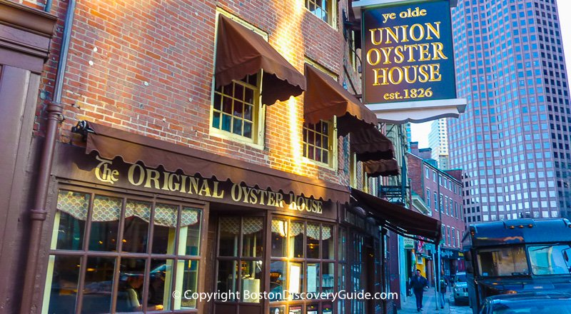 Union oyster house historic boston seafood restaurant for Best fish restaurants in boston