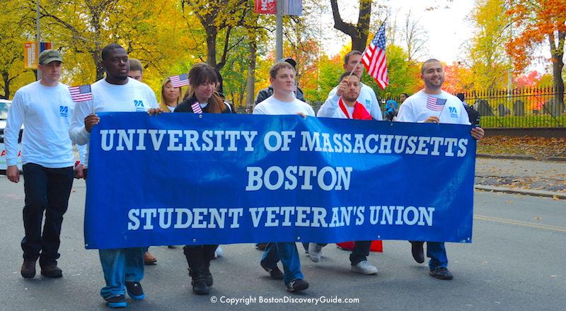 Boston Veterans Day Parade