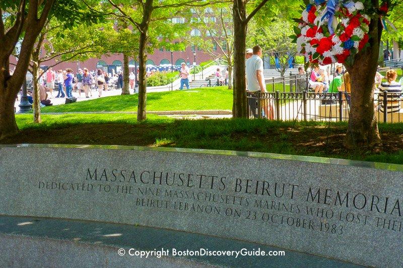 Massachusetts Beirut Memorial
