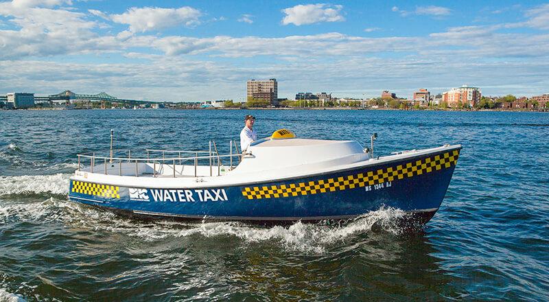 Boston Harbor Cruises Water taxi on Boston Harbor