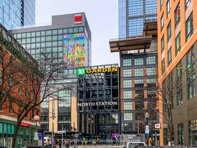 TD Garden at Hub on Causeway in the West End