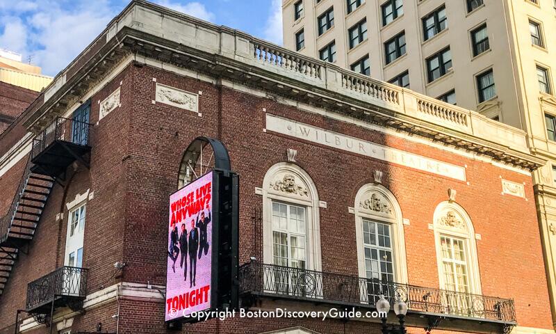 Wilbur Theatre - Boston comedy club and concert venue in the Theatre District