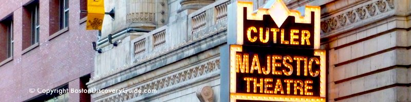 Cutler Majestic Theatre in Boston