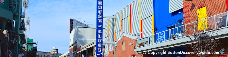 Boston concert schedule - January