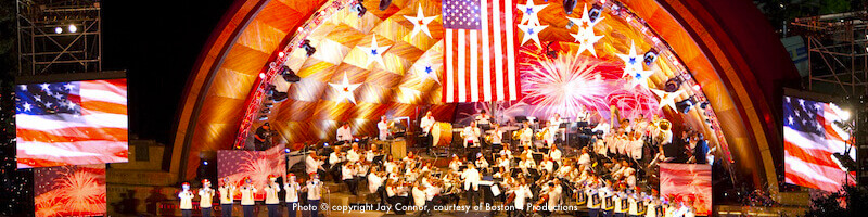 Boston concert schedule - July