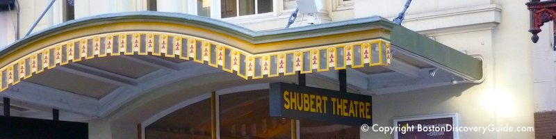 Shubert Theatre in Boston