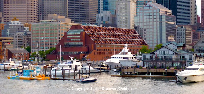 Boston Marriott Long Wharf and Yacht Haven Inn - closest hotels to New England Aquarium