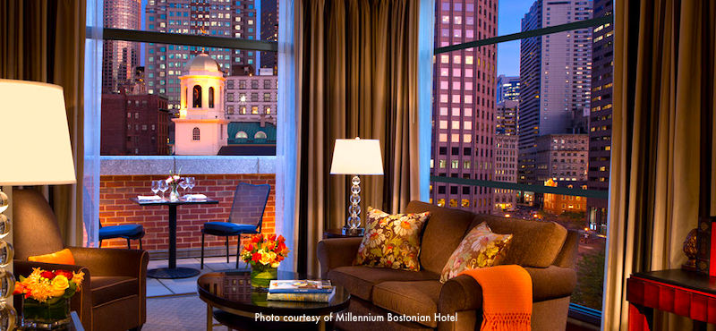 Millennium Bostonian Hotel, top choice near Boston's City Hall Plaza