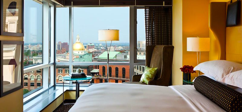 Downtown Boston Hotels - Nine Zero Hotel