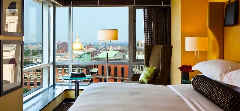 Downtown Boston Hotels - Nine Zero Hotel