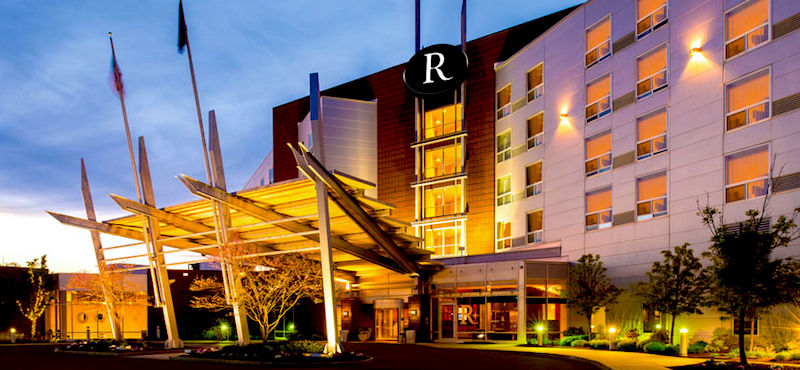Photo of Renaissance Boston Hotel at Patriot Place next to Gillette Stadium, Foxborough, MA